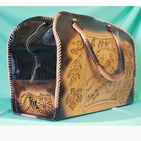 Дорожные винтажные сумки